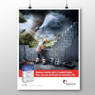affiche-mortier-Fixnloc-Holcim