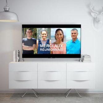 """Campagne TV """"Merci aux Réunionnais"""" d'EDF Réunion"""