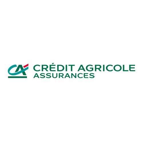 Le logo de la holding d'assurance du groupe Crédit Agricole. Il s'agit d'un client Publishing Services d'Antoine Chadufau.