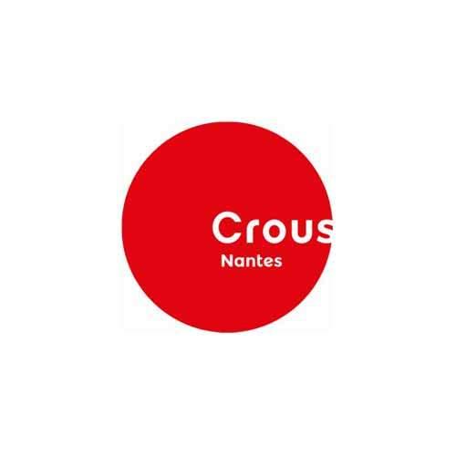 Le logo du Crous de Nantes, une référence newbiz d'Antoine Chadufau.