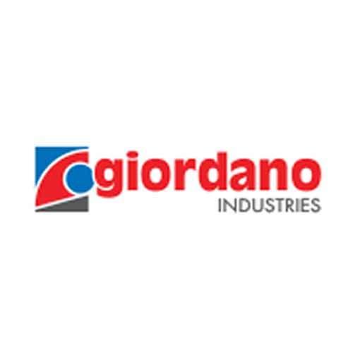 Le logo de la marque Giordano, spécialiste du chauffe-eau solaire depuis 1971 sur l'île de La Réunion.