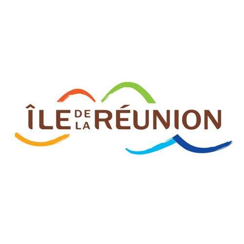 Le logo de l'Ile de La Réunion Tourisme ou IRT. Il s'agit d'une référence en conseil en communication d'Antoine Chadufau.