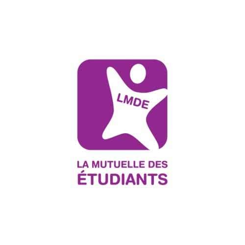 Le logo de la mutuelle des Etudiants, une référence Publishing Services d'Antoine Chadufau.