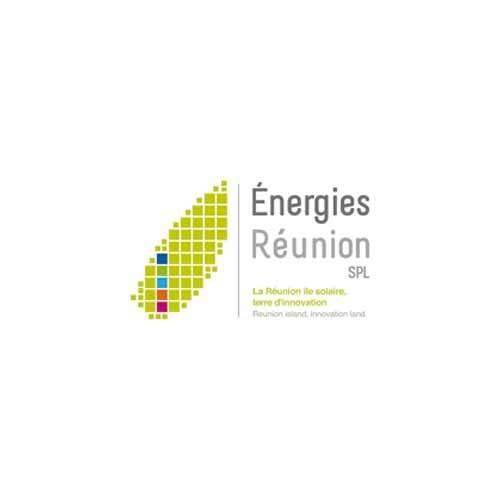Le logo de la SPL Energies Réunion. Il s'agit d'une référence client en conseil en communication d'Antoine Chadufau.