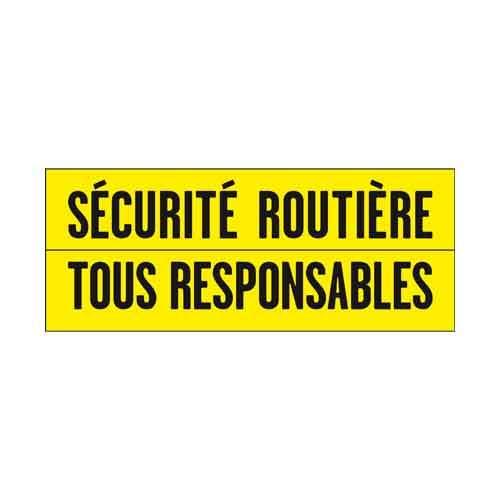 Le logo de la Sécurité Routière. Il s'agit d'une référence client en conseil en communication d'Antoine Chadufau.
