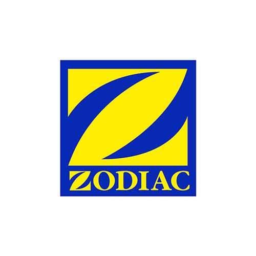 Le logo de Zodiac, marque de bateaux pneumatiques. Il s'agit d'une référence Publishing Services d'Antoine Chadufau.