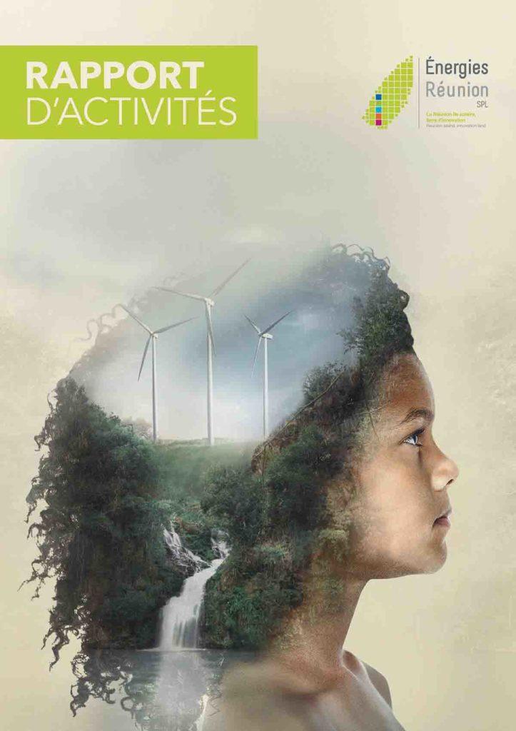 Le rapport d'activités d'Energies Réunion by Facto Saatchi & Saatchi a remporté le prix Kalou 2018 du meilleur print dans la catégorie associations et collectivités