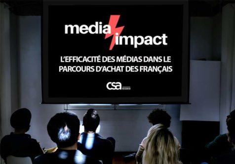 Etude Media Impact : L'efficacité des médias dans le parcours d'achat des Français