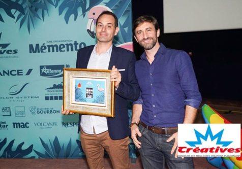 Créatives 2019 : le blog Run The Com remporte le 3ème Prix Social Média à La Réunion