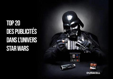 les meilleurs campagne de publicités qui utilisent Star Wars