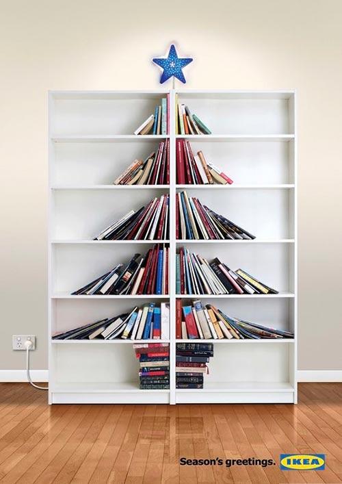 Top 30 des publicités créatives autour du sapin de Noël 26 Ikea