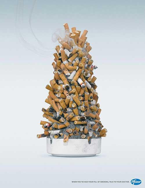 Top 30 des publicités créatives autour du sapin de Noël 18 Pfizer